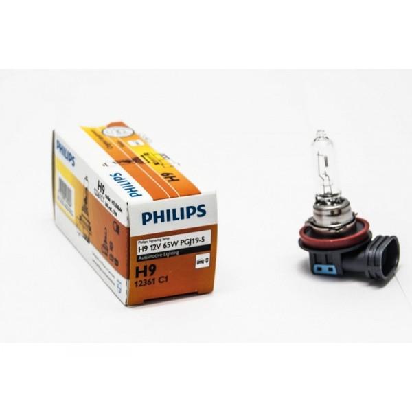 Автомобильная лампа H9 65W 1 шт. Philips 12361C1 - фото 8