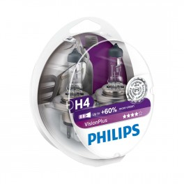 Philips Vision Plus H4 +60%