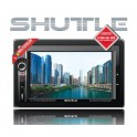 DVD-ресивер SHUTTLE SDUD-6950 Black/Multicolor 2DIN