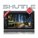 DVD-ресивер SHUTTLE SDUD-6960 Black/Multicolor 2DIN