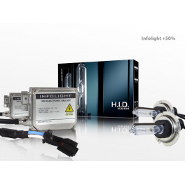 Ксенон H1 5000K Infolight +50%