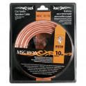 Акустический кабель MYSTERY MSC -10/10,10 м в блистере,10 Ga,2х6 мм