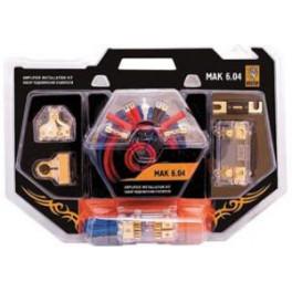 Набор кабелей Mystery MAK 6.04 (2 усилителя)