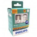 Philips PY21W LED с обманкой 11498ulax2