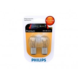 Автомобильные лампы Philips Vision Premium P21/5W