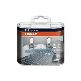 Автомобильные лампы Osram Silverstar 2.0 H1 +60%