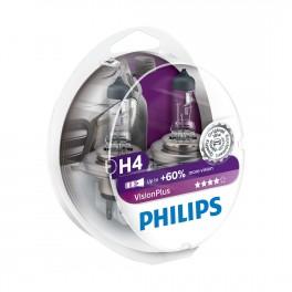Philips Vision Plus H4 +60%