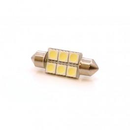 Светодиодные лампы С5W Baxster 6 SMD
