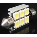 Светодиодные лампы С5W Falcon 150Lm 38мм