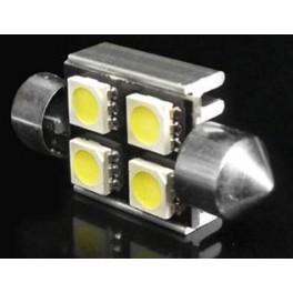 Светодиодные лампы С5W Falcon 100Lm 36мм