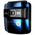 Автомобильный видеорегистратор HP F210 GPS blue
