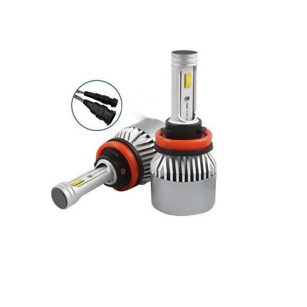 Led лампы H8 Idial Epistar Cob 8000lm цена отзывы купить диоды в